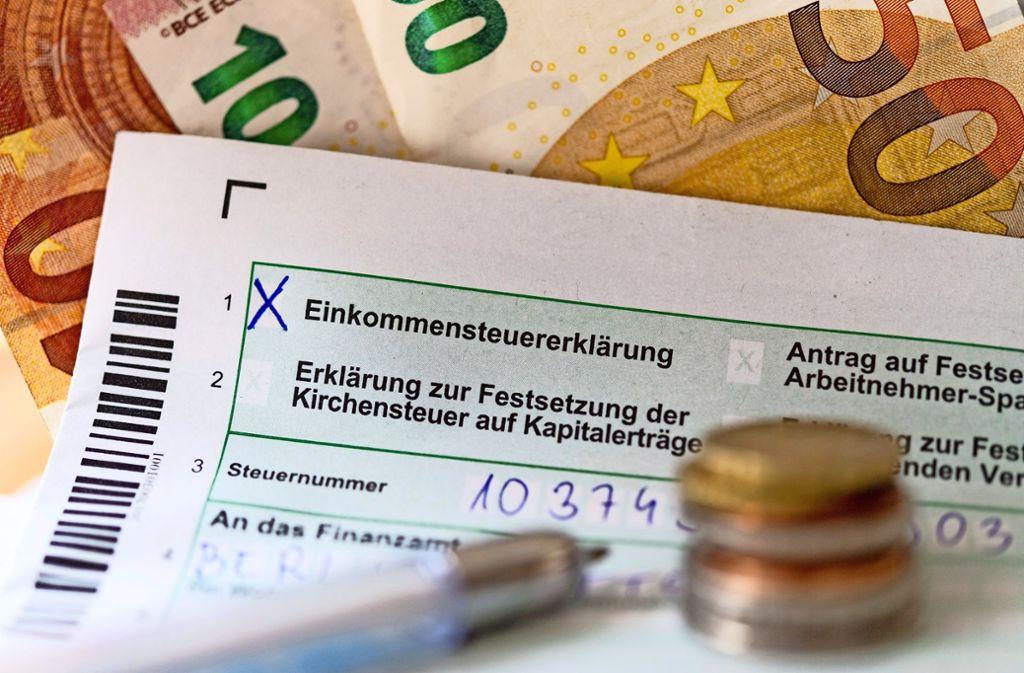 Steuererklarung So Senken Sie Ihre Steuerlast Wissen
