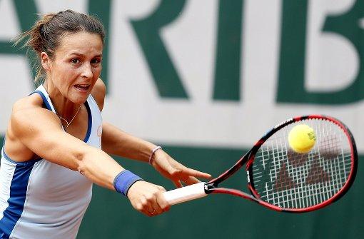 Zoff auf dem Tennis-Court