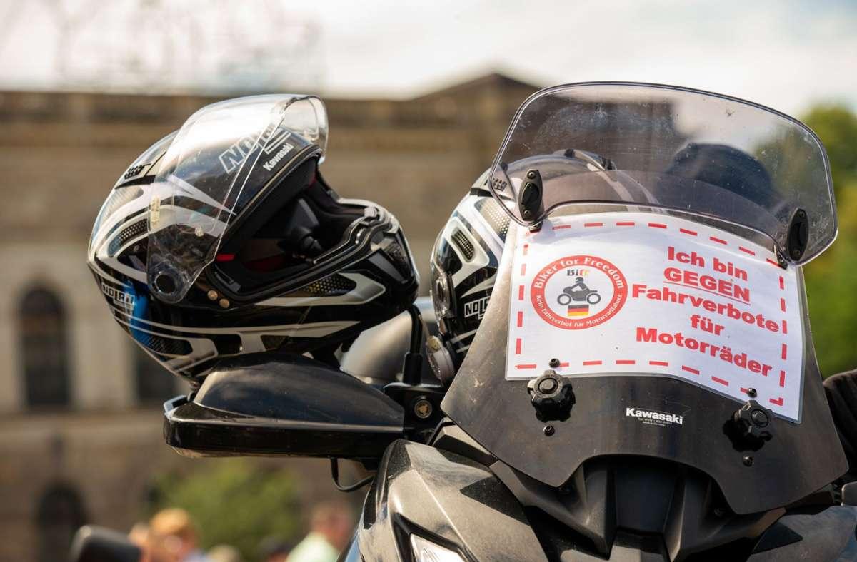 Motorrad Fahrverbote Deutschland