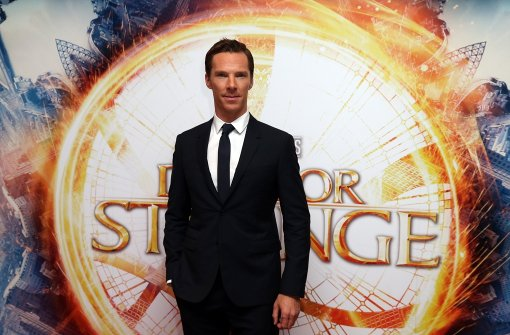 Benedict Cumberbatch kann auch Hausmann