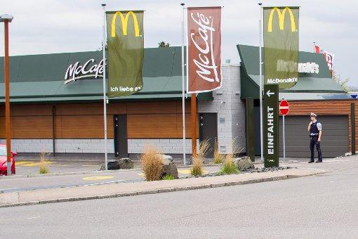 McDonalds im Kreis Ludwigsburg evakuiert