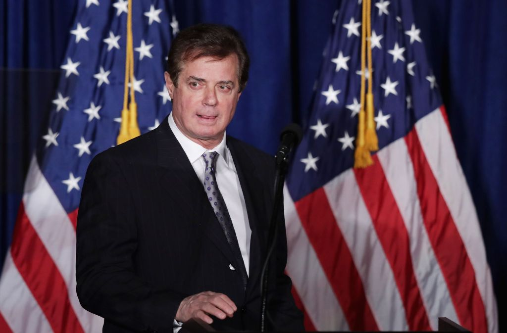 Donald Trumps Ex-Wahlkampfmanager Paul Manafort. Foto: Getty