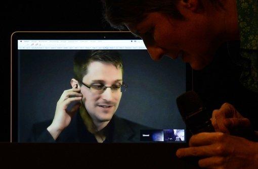 Eine Stadt im Snowden-Fieber
