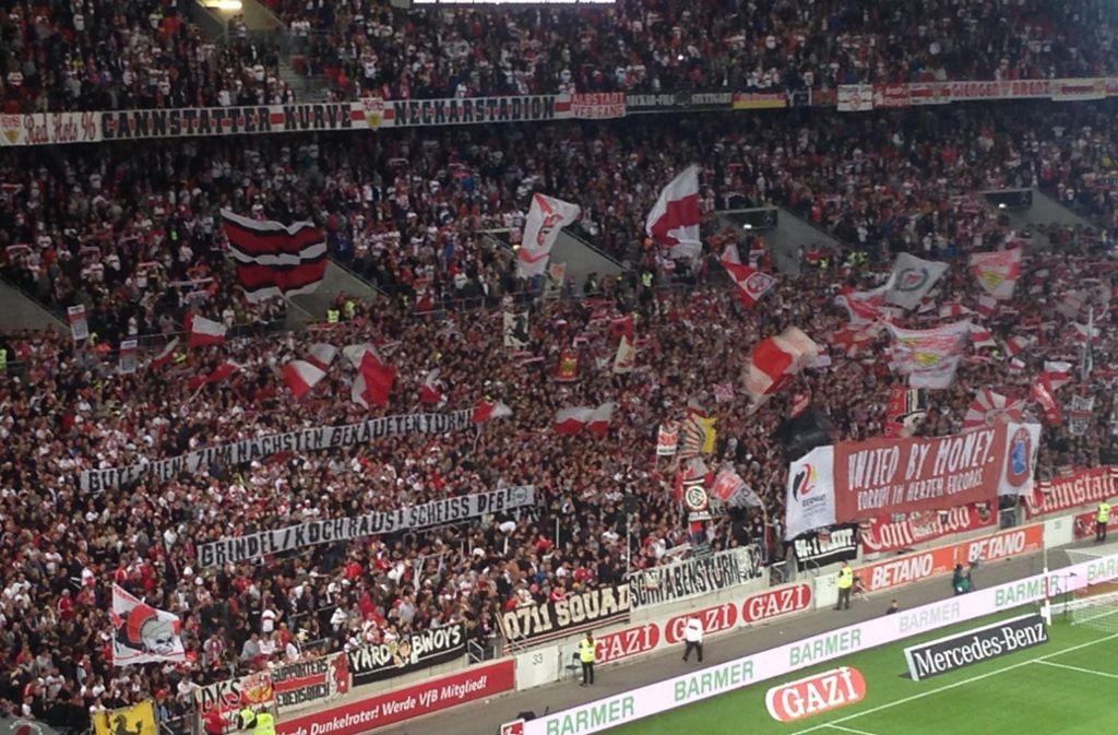 huge discount 44631 69312 VfB Stuttgart: VfB-Ultras intensivieren Proteste gegen den ...