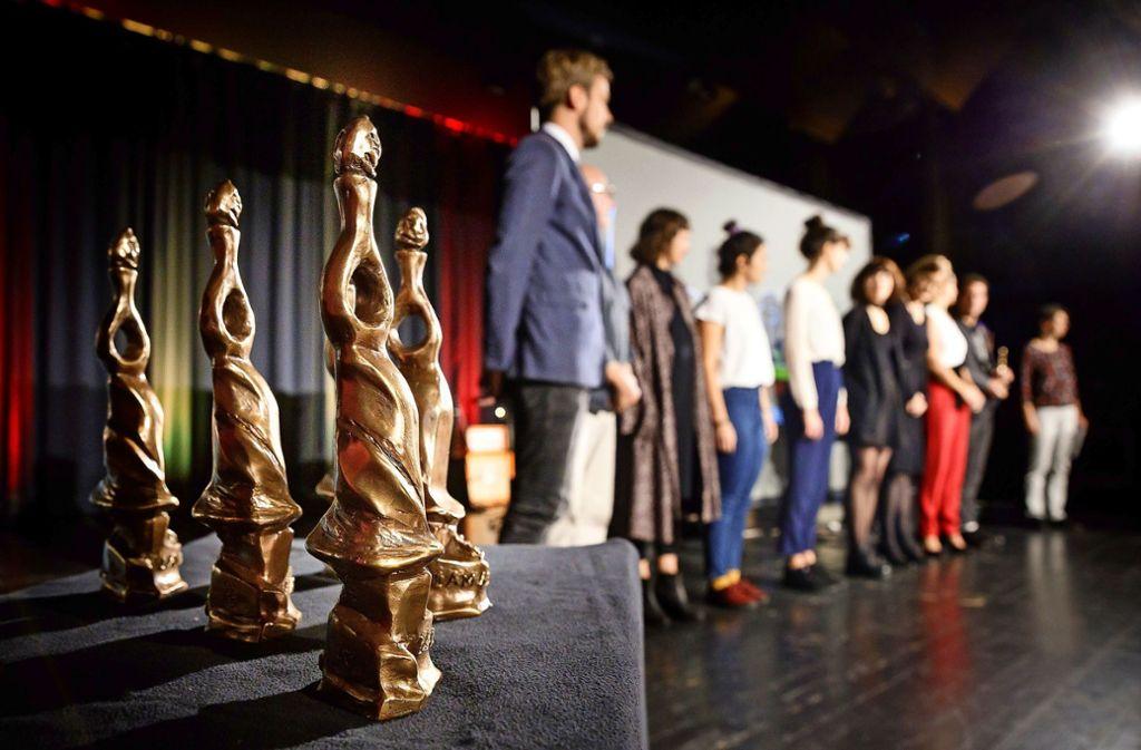 Lamathea-Vergabe in Winnenden - Einzigartiger Preis für Schauspiel-Besessene - Stuttgarter Nachrichten
