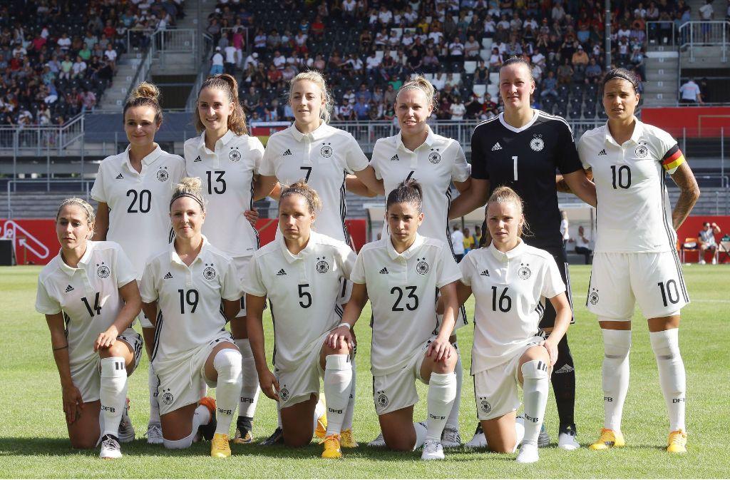 Frauenfussball Em Das Sind Die Dfb Kickerinnen Fussball