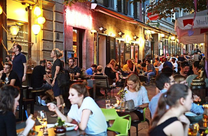 Wilhelmsplatz in Stuttgart: Gastro-Wildwuchs in der City