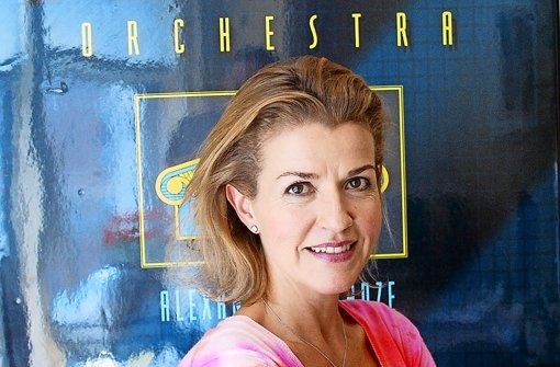 Star-Geigerin Anne-Sophie Mutter in New York Foto: dpa