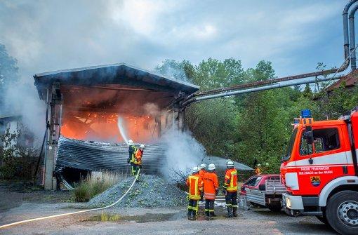 Brand verursacht Schaden in sechsstelliger Höhe