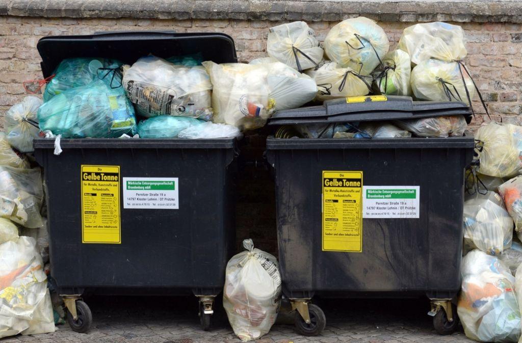 Müllgebühren Pforzheim