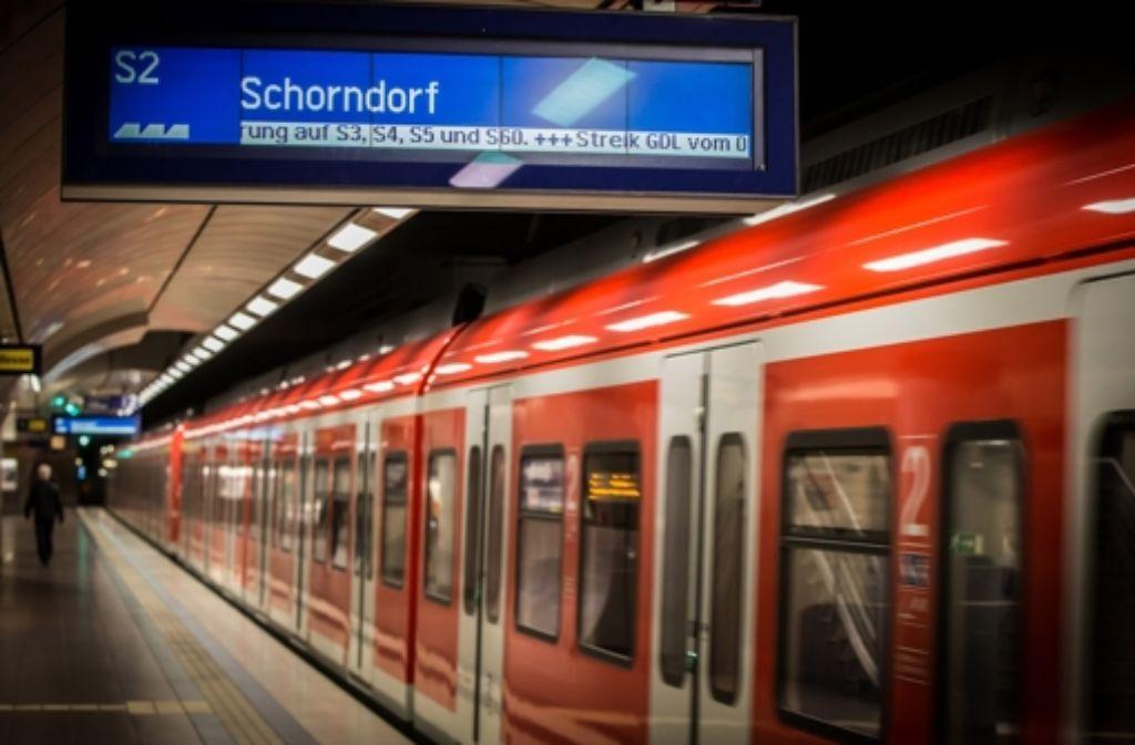 S Bahn Stuttgart Streik