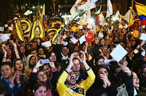Frieden in sechs Akten in Kolumbien