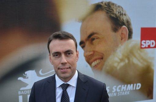 Der SPD-Spitzenkandidat zur Landtagswahl, Nils Schmid. Foto: dpa