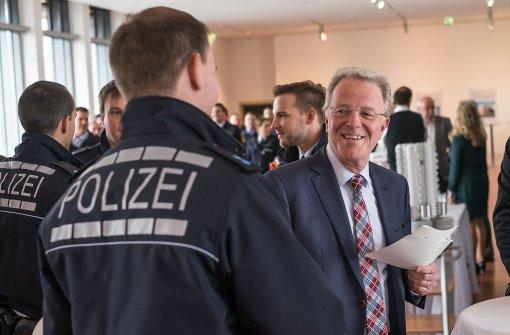 Kleiner Sicherheitsgipfel im Rathaus