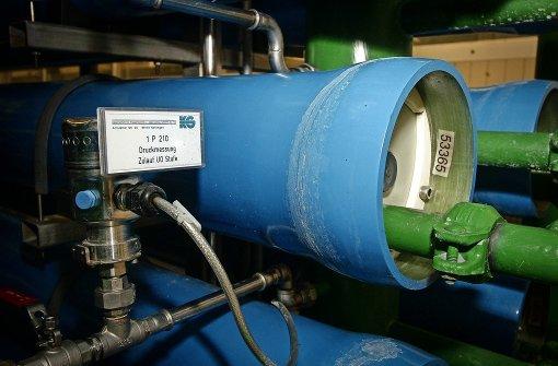 Der Wasserdruck muss stimmen