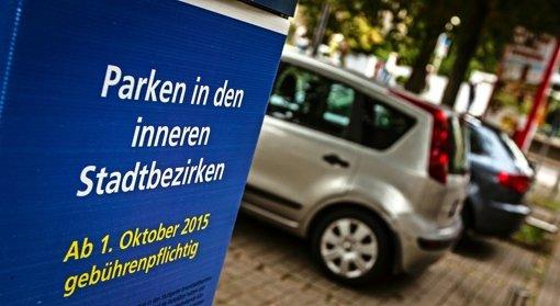 Nach Oktober 2015 wird der Parkraum 2016 und 2017 in weiteren Gebieten der Innenstadt bewirtschaftet. Foto: Lichtgut/Leif Piechowski