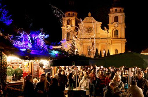 Ludwigsburg Weihnachtsmarkt.Barocker Weihnachtsmarkt Ludwigsburg Heller Die Engel Nie Strahlten