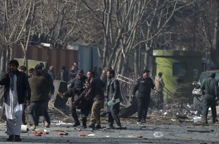 Afghanistan: Fast 100 Tote bei Anschlag der Taliban in Kabul