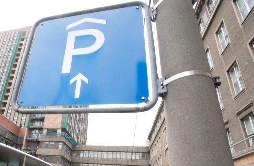 Klicken Sie sich durch die besten Parkhäuser, Tiefgaragen und Parkplätze in der Stuttgarter City. Foto: dpa