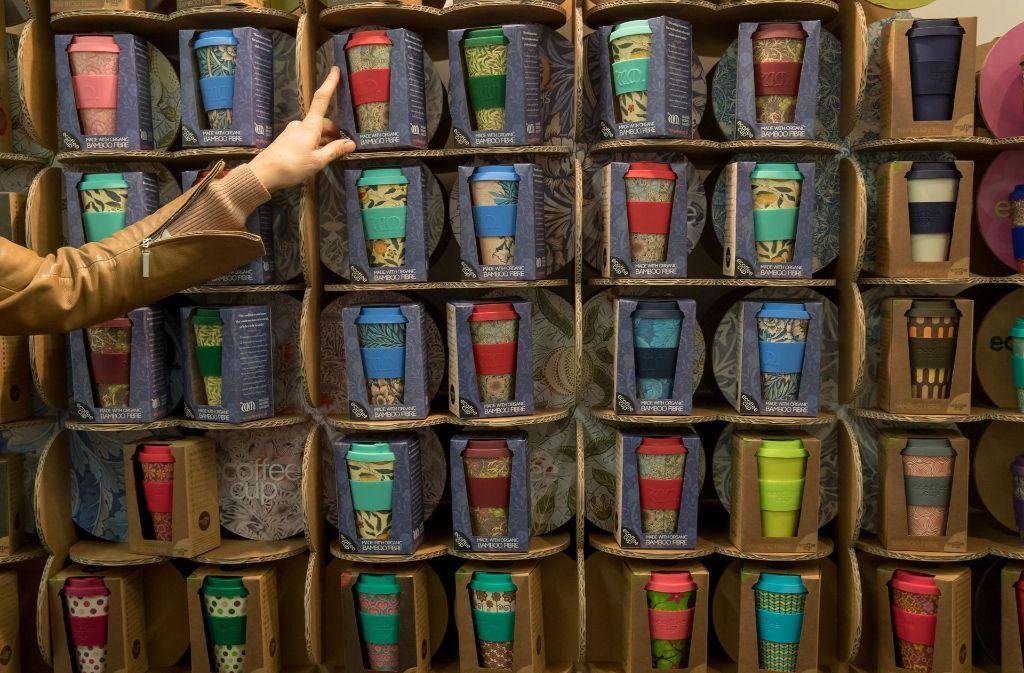 Coffee To Go Becher Geschirr Aus Bambus Ist Nicht Umweltfreundlich