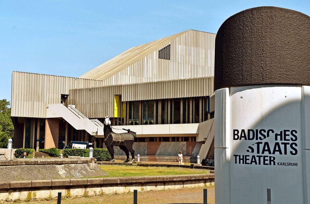 Staatstheater Karlsruhe Parken