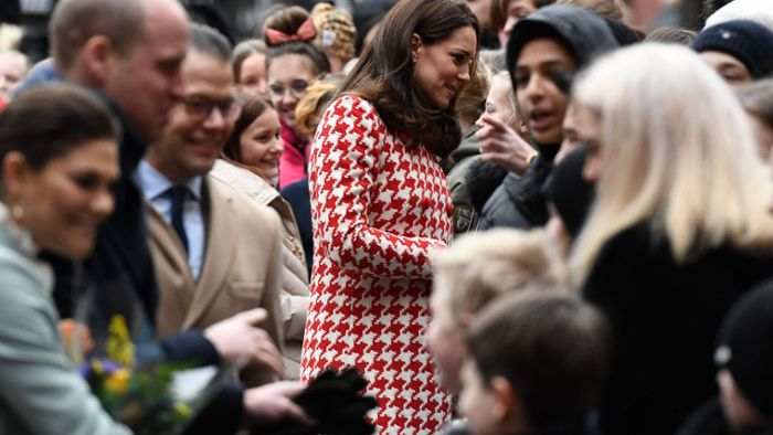 Kate und William treffen Kronprinzessin Victoria