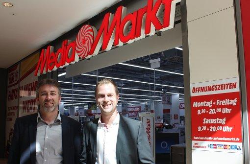 Erster Media Markt in Bad Cannstatt