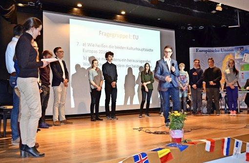 Bulgarische Schüler sichern sich den Sieg
