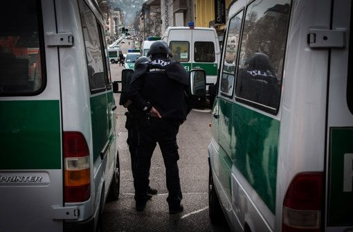 Die Grünen wollen die Polizeistärke im Land erhöhen Foto: Lichtgut/Achim Zweygarth