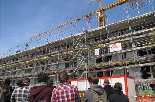 Neues Wohnheim in Hohenheim
