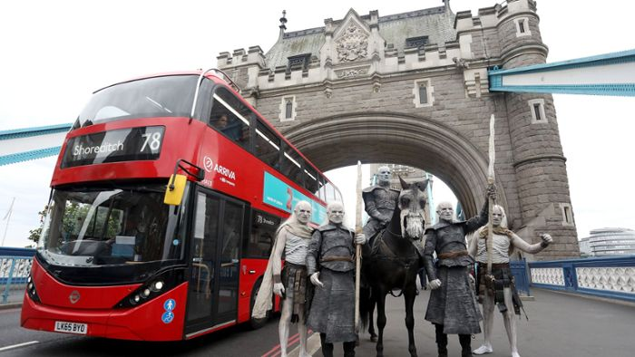 White Walkers ziehen durch London