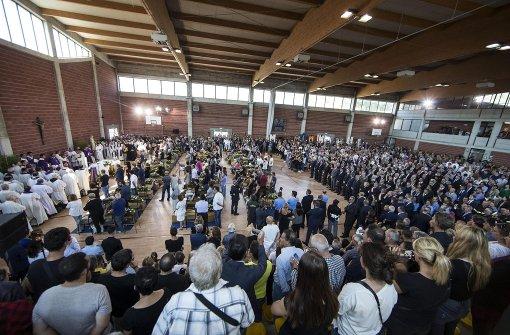 Italien nimmt Abschied von Opfern
