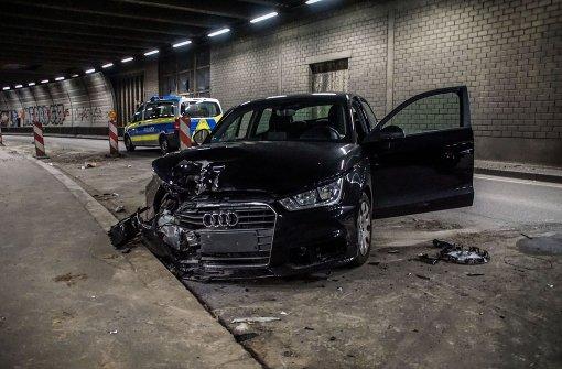 Berger Tunnel nach Unfall gesperrt