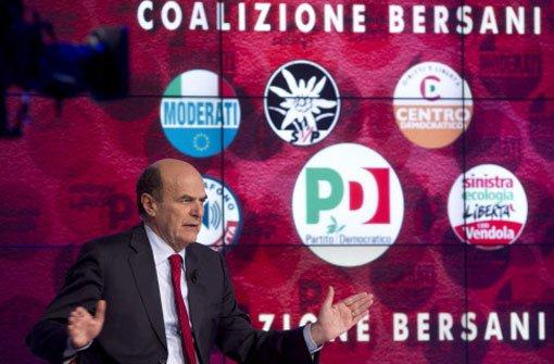Pragmatischer Linker mit wirtschaftlicher Kompetenz - Pier Luigi Bersani.  Foto: dpa