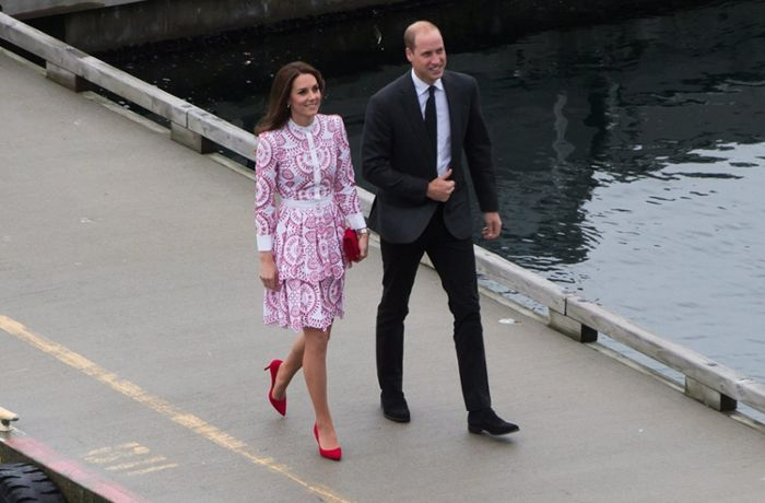 Kanadier bejubeln Kate und William: Ohne Kind und Kegel in Vancouver