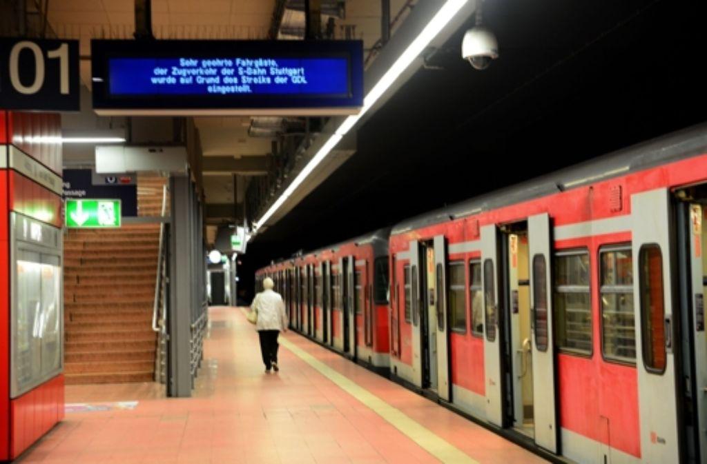 Streik Bahn Mittwoch