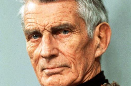 Briefe Von Sam : Beckett ausstellung ein kleines fernsehspiel für