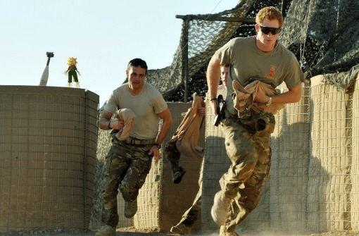 Captain Wales: Prinz Harry im Einsatz in Afghanistan. Foto: dpa