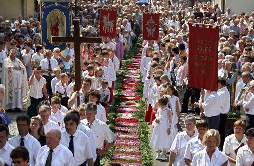 Prozessionen und christliche Musik
