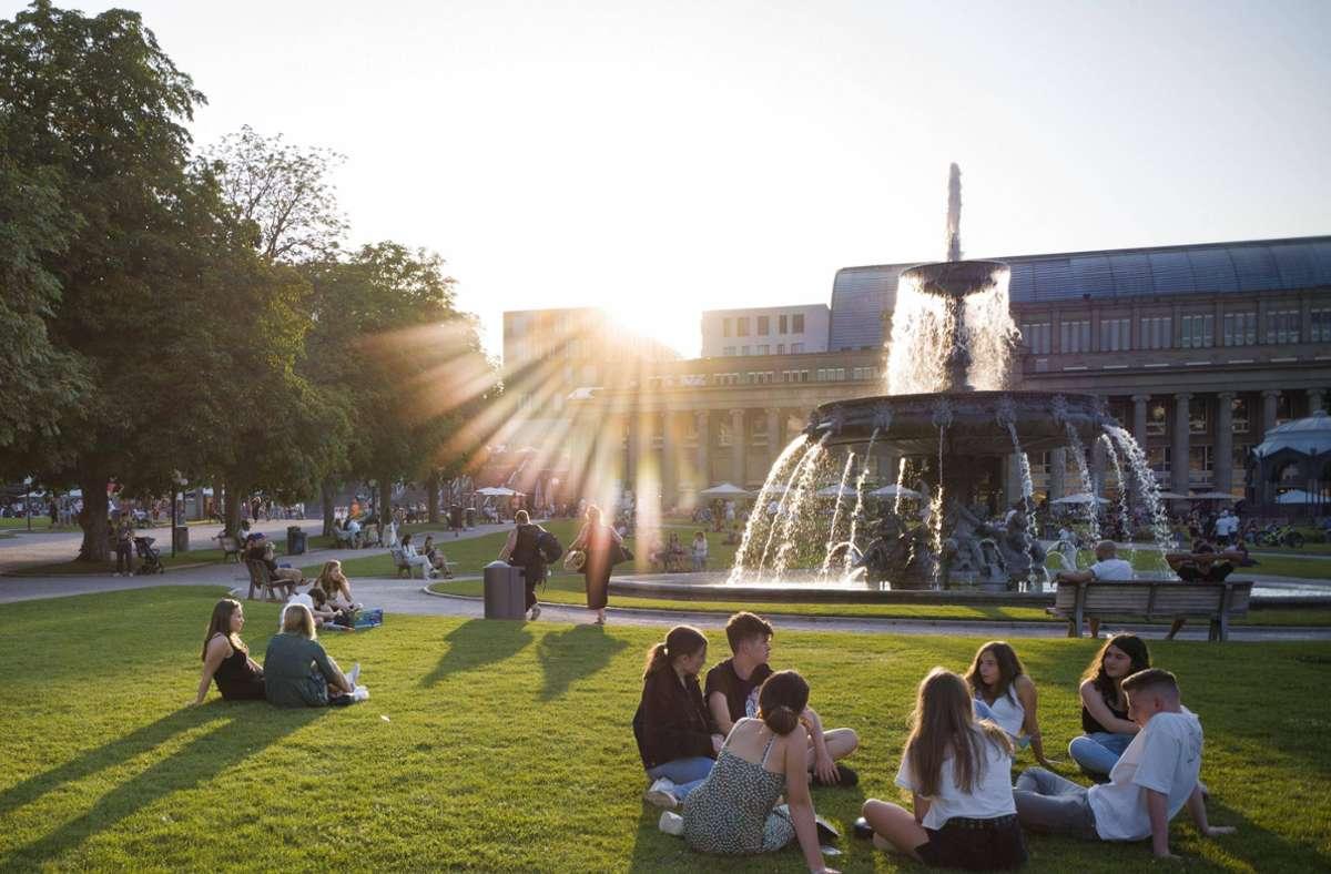 Wetter in Stuttgart Ab Sonntag wird das Wetter wieder sommerlich ...