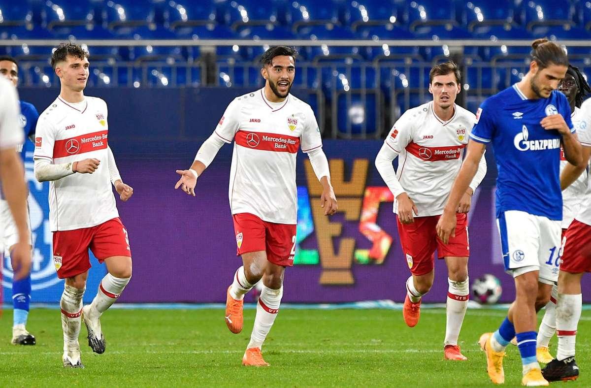 Sturmer Des Vfb Stuttgart Nicolas Gonzalez Drangt In Die Vfb Startelf Vfb Stuttgart Stuttgarter Nachrichten