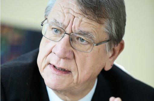 Für Handwerkstag-Präsident Joachim Möhrle ist  Ausbildung ein Top-Thema. Foto: Leif Piechowski