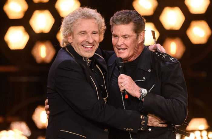 David Hasselhoff in Berlin: Baywatch-Star will zu Silvester am Brandenburger Tor singen
