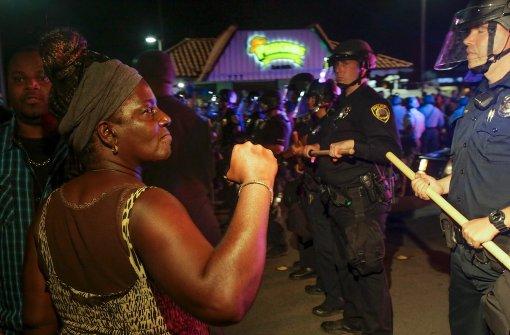 Polizei erschießt unbewaffneten Schwarzen