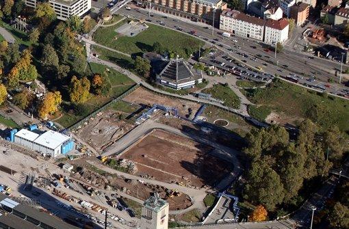 Über die  S-21-Baustelle  wird vor Gericht verhandelt Foto: Jan Reich