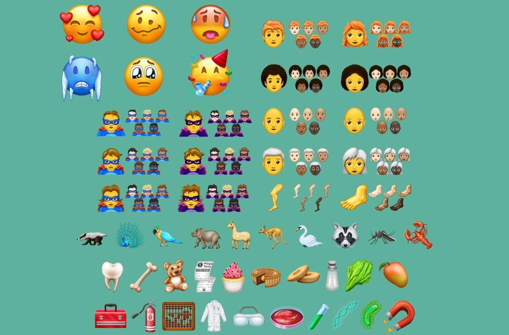 Neue Emojis 2018 157 Neue Figuren Für Whatsapp Panorama