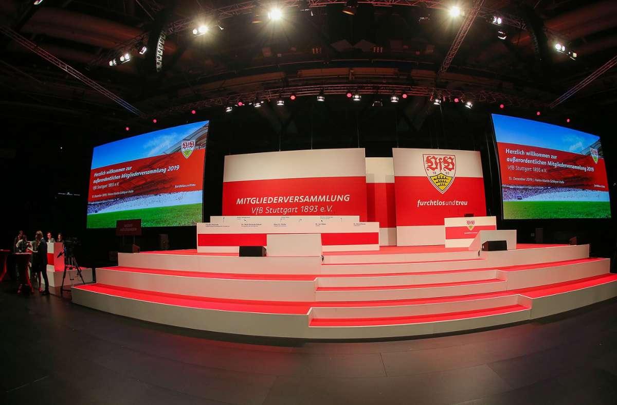 Mitgliederversammlung beim VfB Stuttgart - Präsidium hat neuen Termin im Blick - Stuttgarter Nachrichten
