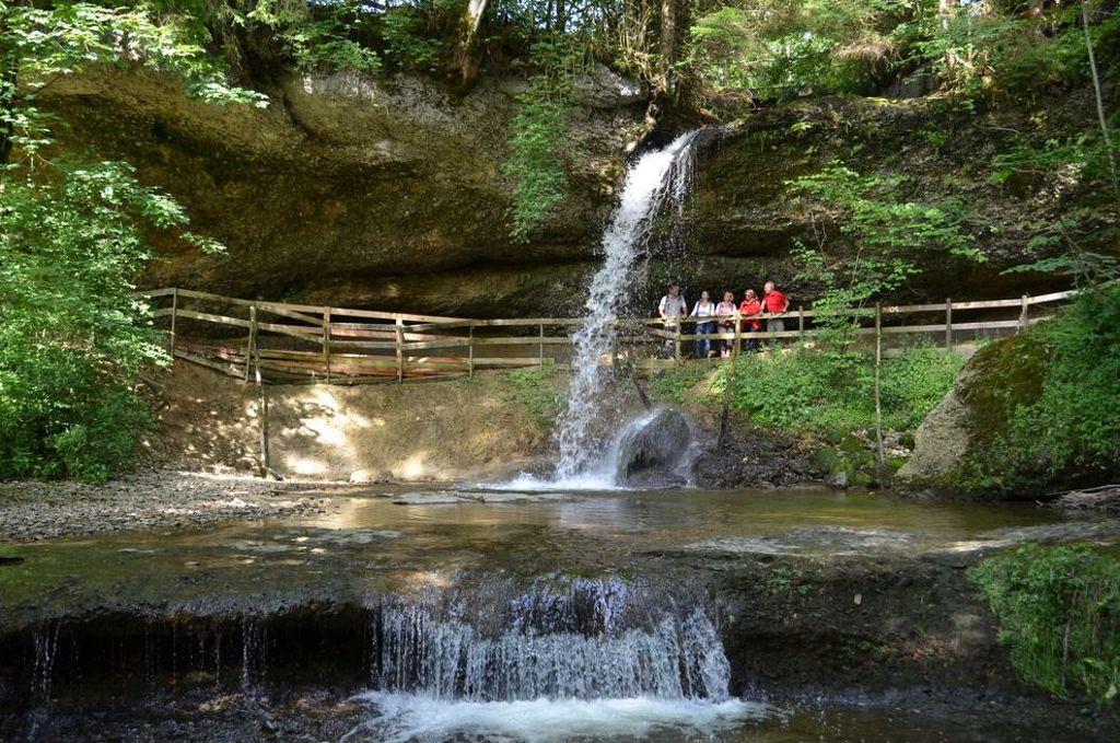 Bayerns schönste Naturgeotope - Scheidegger Wasserfälle