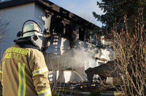 Ein Toter bei Explosion in Wohnhaus