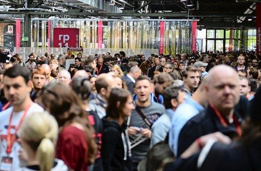 Republica In Berlin Kampf Ums Internet Wirtschaft
